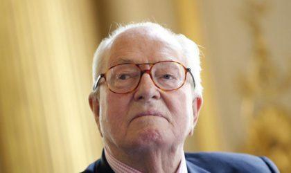 Jean-Marie Le Pen à Algeriepatriotique : «On ne peut pas dire qu'on est en démocratie en France»