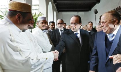 Hollande partage le f'tour à la Mosquée de Paris ce jeudi