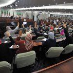 Les projets de lois ont été votés par un hémicycle à moitié vide. New Press