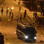 Les scènes d'émeute en plein centre-ville d'Annaba. New Press