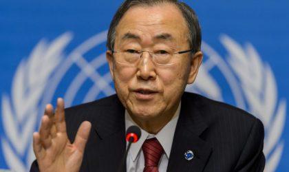 Ban Ki-moon dénonce le blocus israélien imposé à Ghaza
