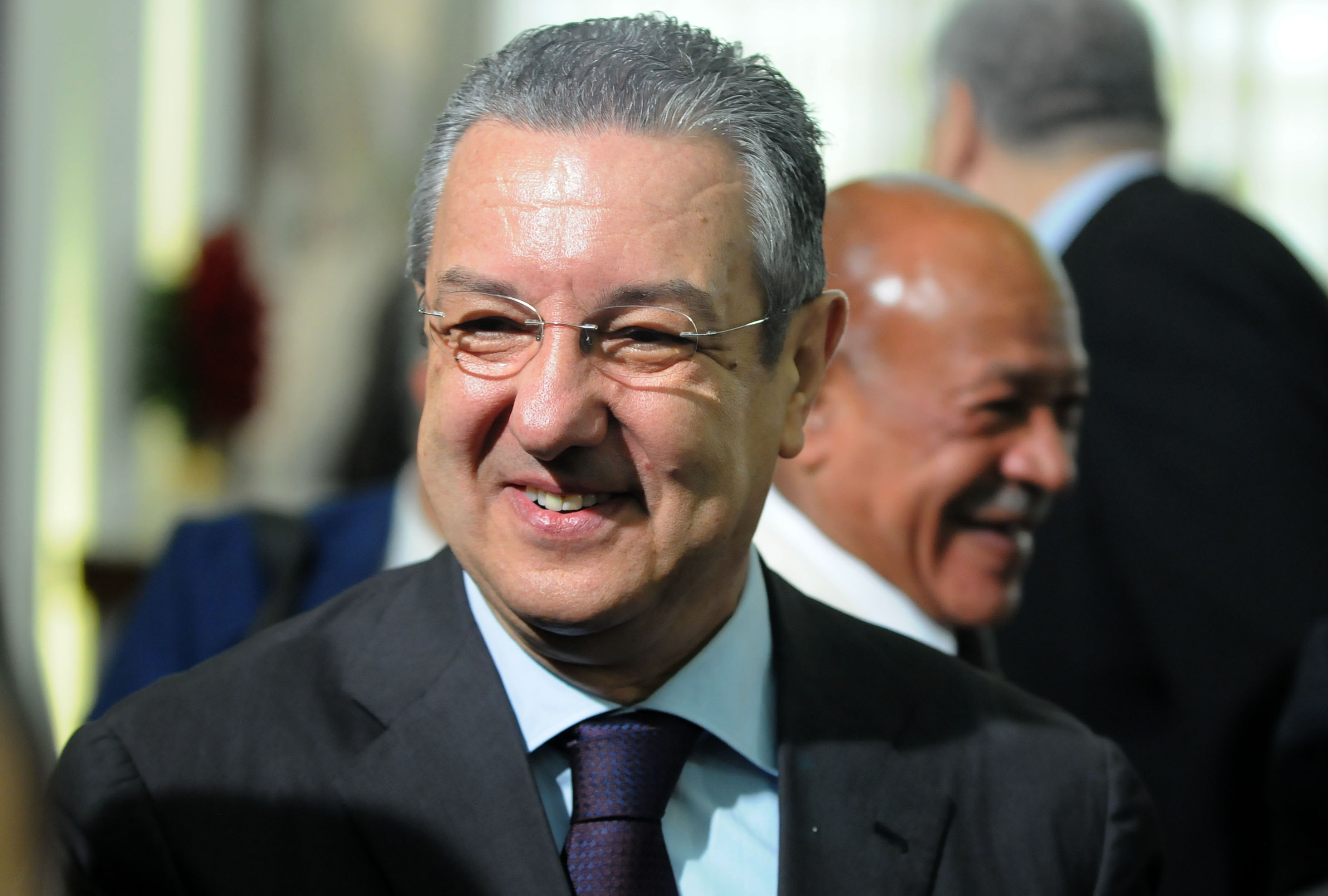 Mohamed Loukal, gouverneur de la Banque d'Algérie. New Press