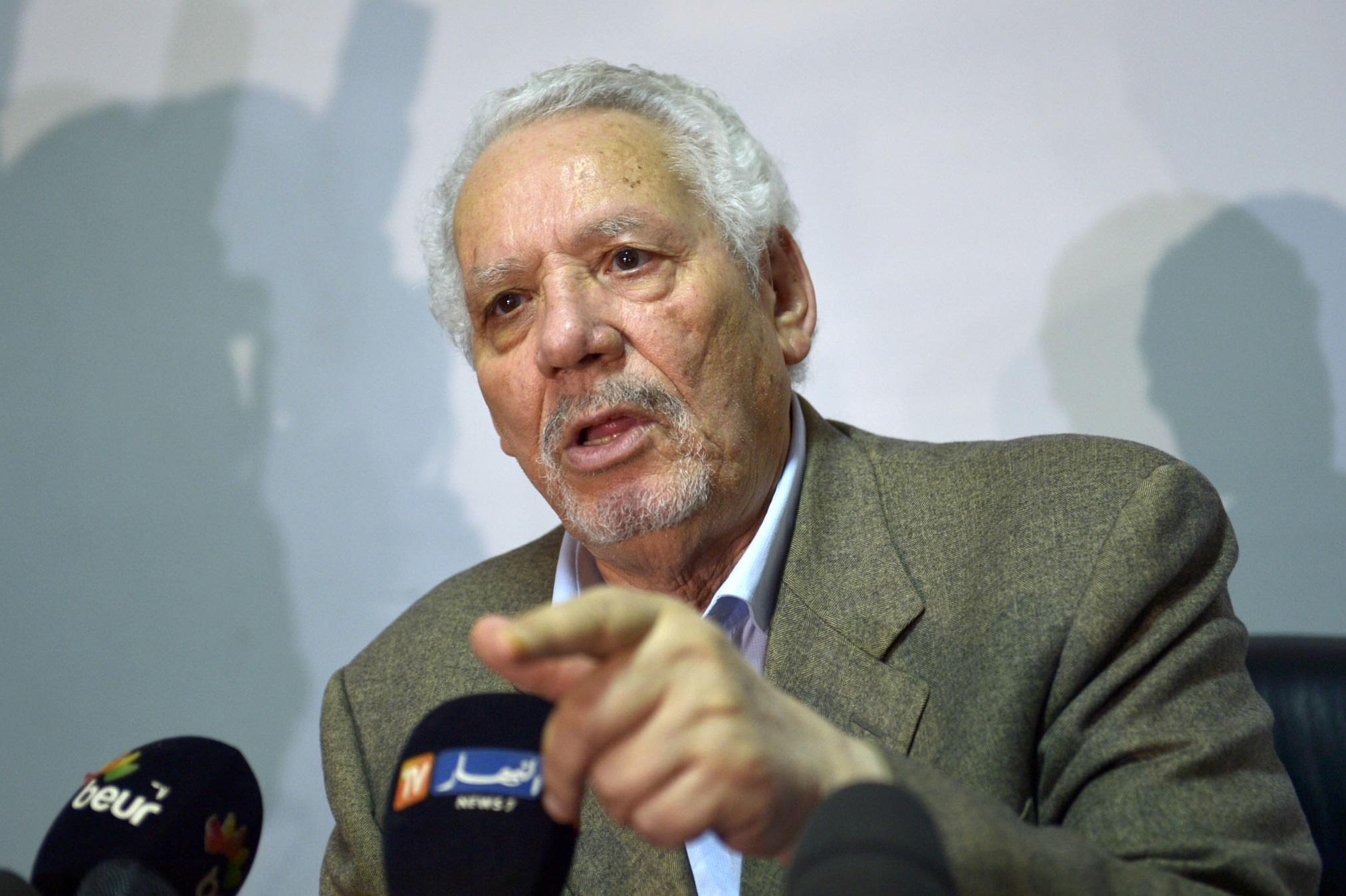 Le général Khaled Nezzar. New Press