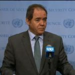 Le représentant de l'Algérie auprès de l'ONU, Sabri Boukadoum. D. R.