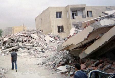 Il y a 13 ans, le séisme de Boumerdès. D. R.