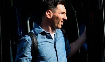 Barça : Lionel Messi écourte ses vacances