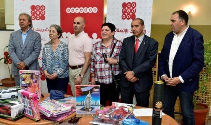 Ooredoo et le CRA rendent visite aux enfants hospitalisés