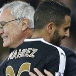 Ranieri compte beaucoup sur Mahrez. D. R.