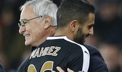 Ranieri «sûr et certain» que Mahrez reste à Leicester City