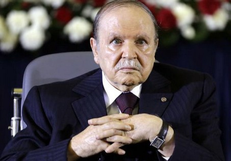 Le président Bouteflika. New Press