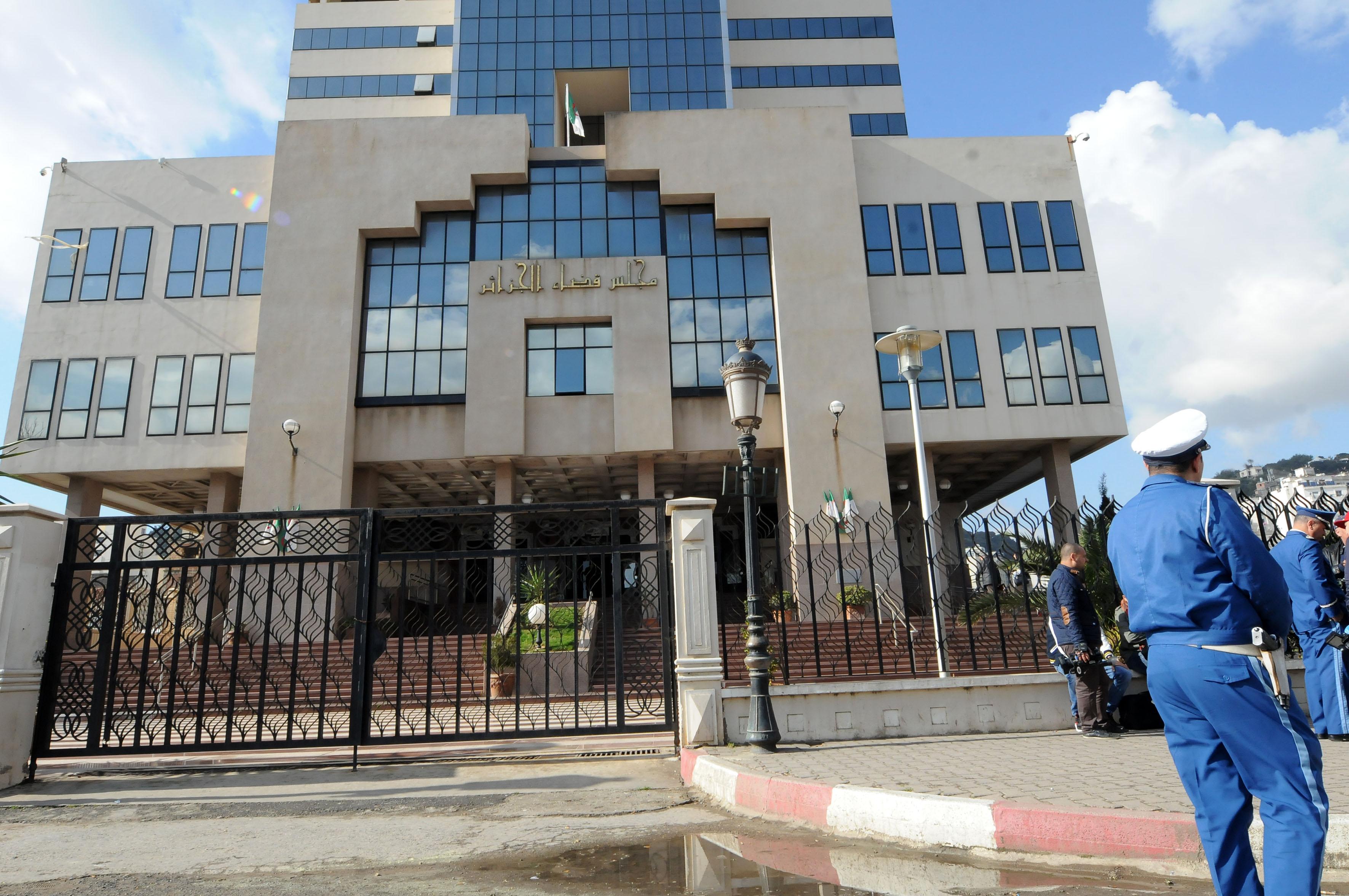 Le tribunal de Sidi M'hamed. New Press
