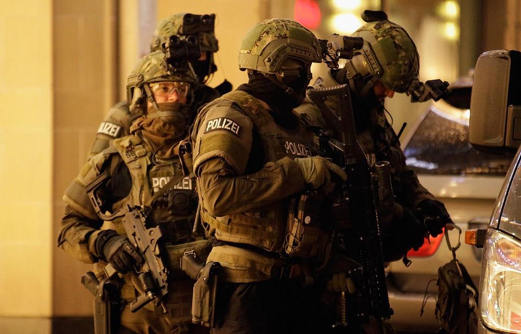 Des éléments de l'unité spéciale antiterroriste allemande. D. R.
