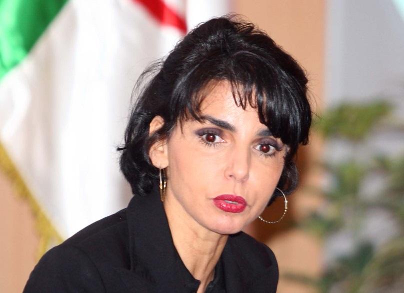 Rachida Dati à Alger, en 2010. New Press