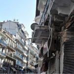La rue Didouche Mourad, réservée à la population européenne durant la colonisation. New Press