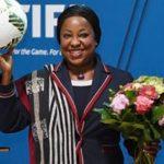 Fatma Samoura veut remettre de l'ordre à la FIFA. D. R.