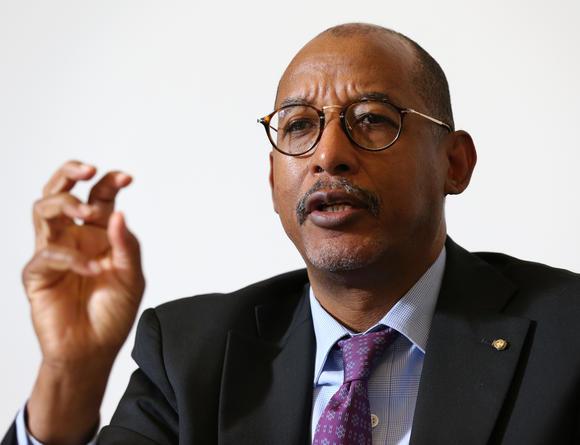 Ibrahim Assane Mayaki, secrétaire exécutif du Nepad. D. R.
