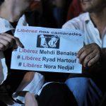 La société civile continue de se mobiliser pour obtenir la libération des trois détenus. New Press