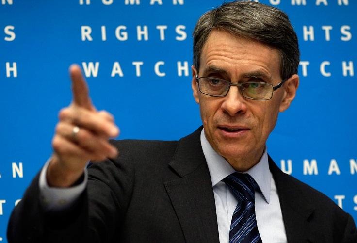 Kenneth Roth, président de HRW. D. R.