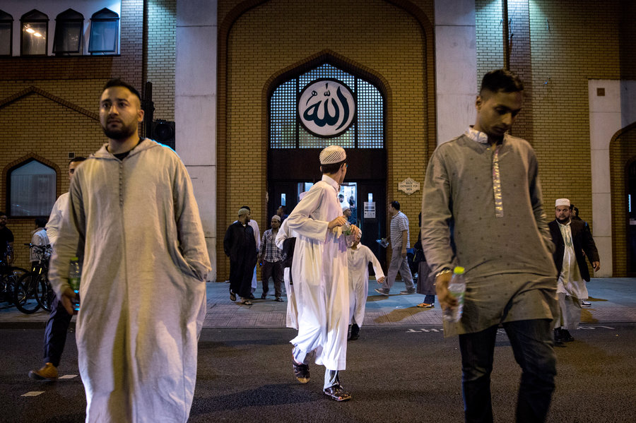 Une mosquée de Londres. D. R.