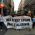 Manifestation d'extrémistes à Lyon. Photo d'archives. D. R.