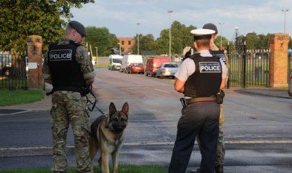 Tentative d'attaque terroriste contre un officier britannique