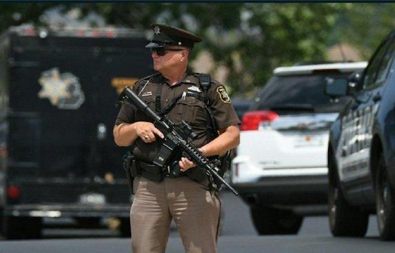 Deux huissiers ont été tués et un policier blessé dans cette nouvelle attaque. D. R.