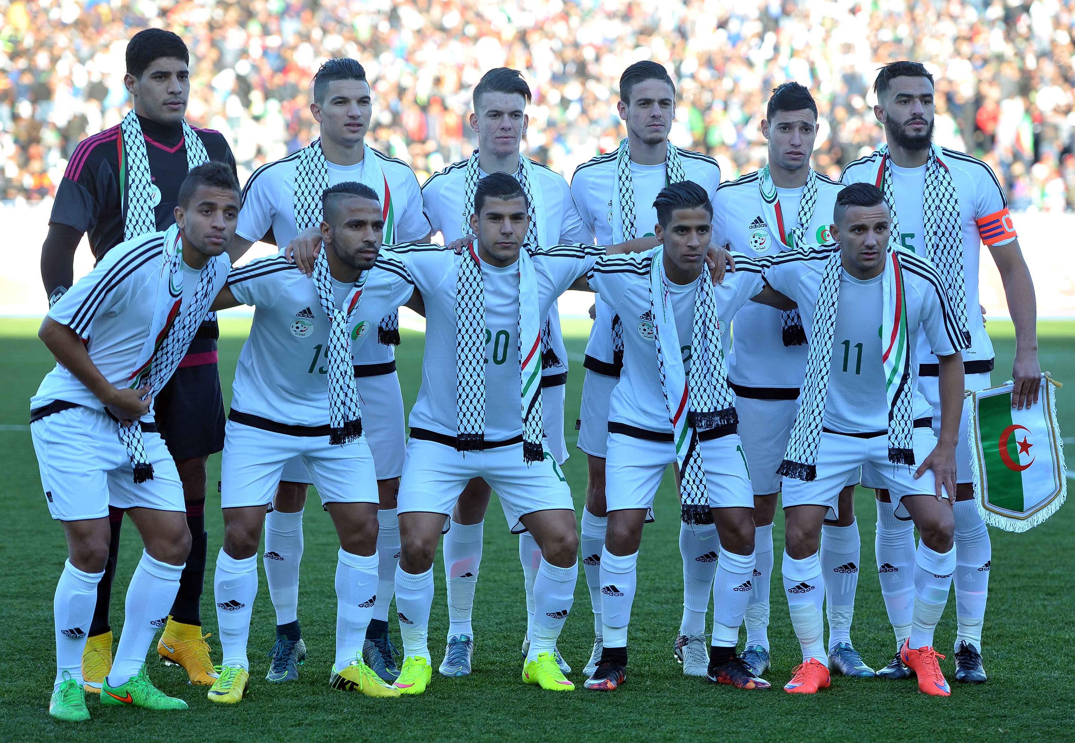 La sélection olympique algérienne de football. New Press
