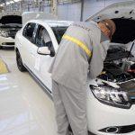 L'usine de montage de Renault Algérie. New Press