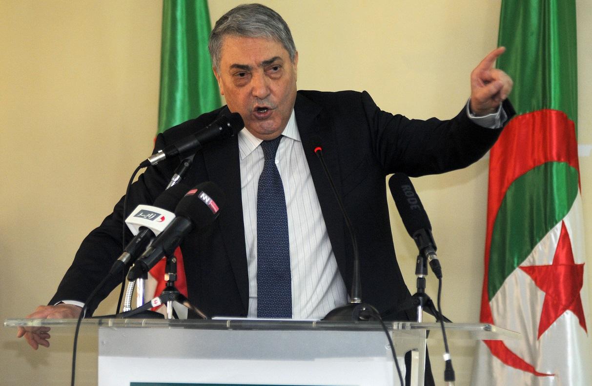 Ali Benflis, coordinateur du Pôle des forces du changement. New Press