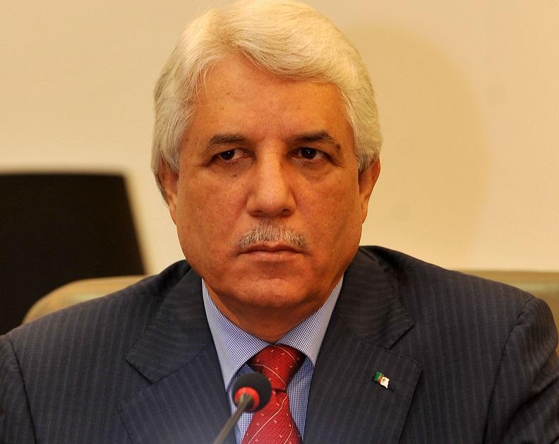 Le ministre de la Justice, garde des Sceaux, Tayeb Louh. New Press