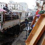 Des familles se sont opposées à la démolition des habitations après le relogement. New Press