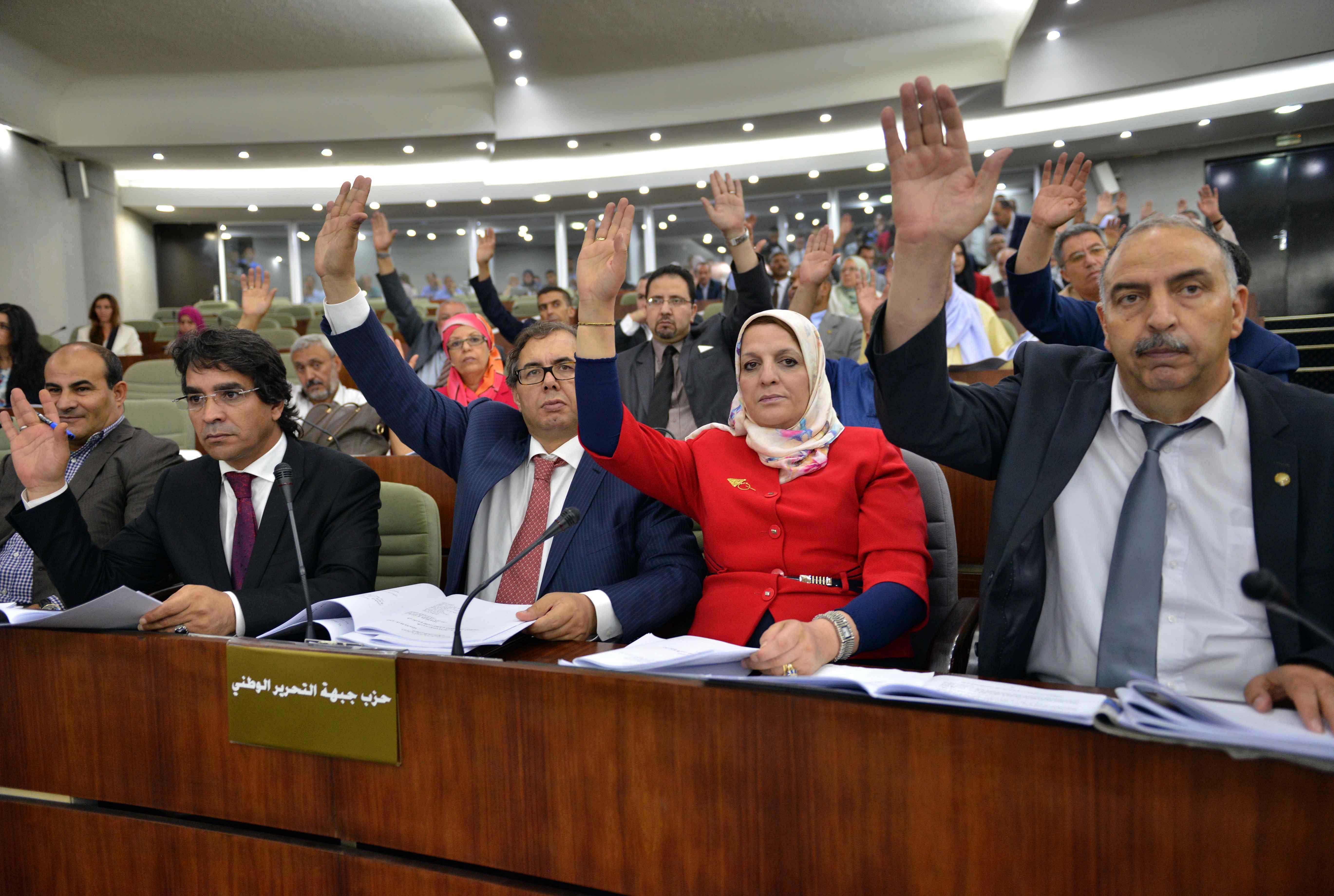 Le vote du FLN ont suffi pour faire passer tous les textes de loi critiqués par les formations de l'opposition. New Press