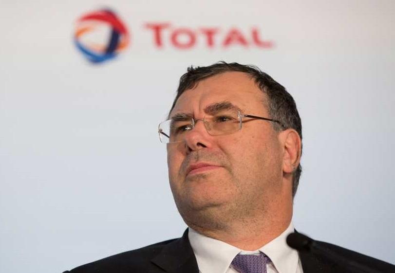 Patrick Pouyanné, PDG de Total. D. R.