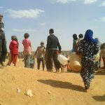 Ces réfugiés ont désespérément besoin d'aide, alerte la Croix-Rouge. D. R.