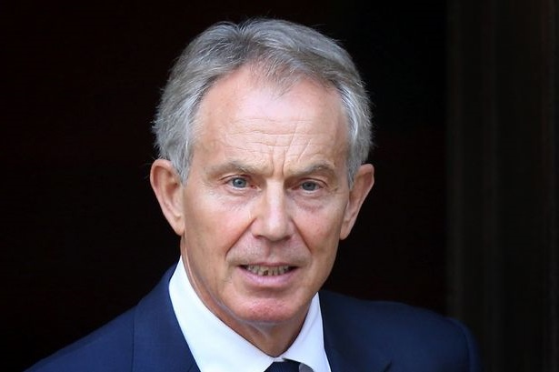 Tony Blair. D. R.