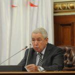 Abdelkader Bensalah, président du Conseil de la nation. New Press