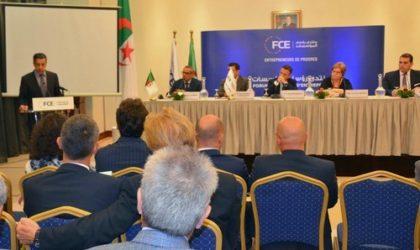 FCE : création du club d'affaires algéro-italien