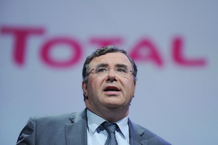 Patrick Pouyanné, le PDG de Total. D. R.