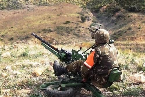 Aucun répit n'est laissé aux terroristes par les forces de l'ANP. Photo : MDN
