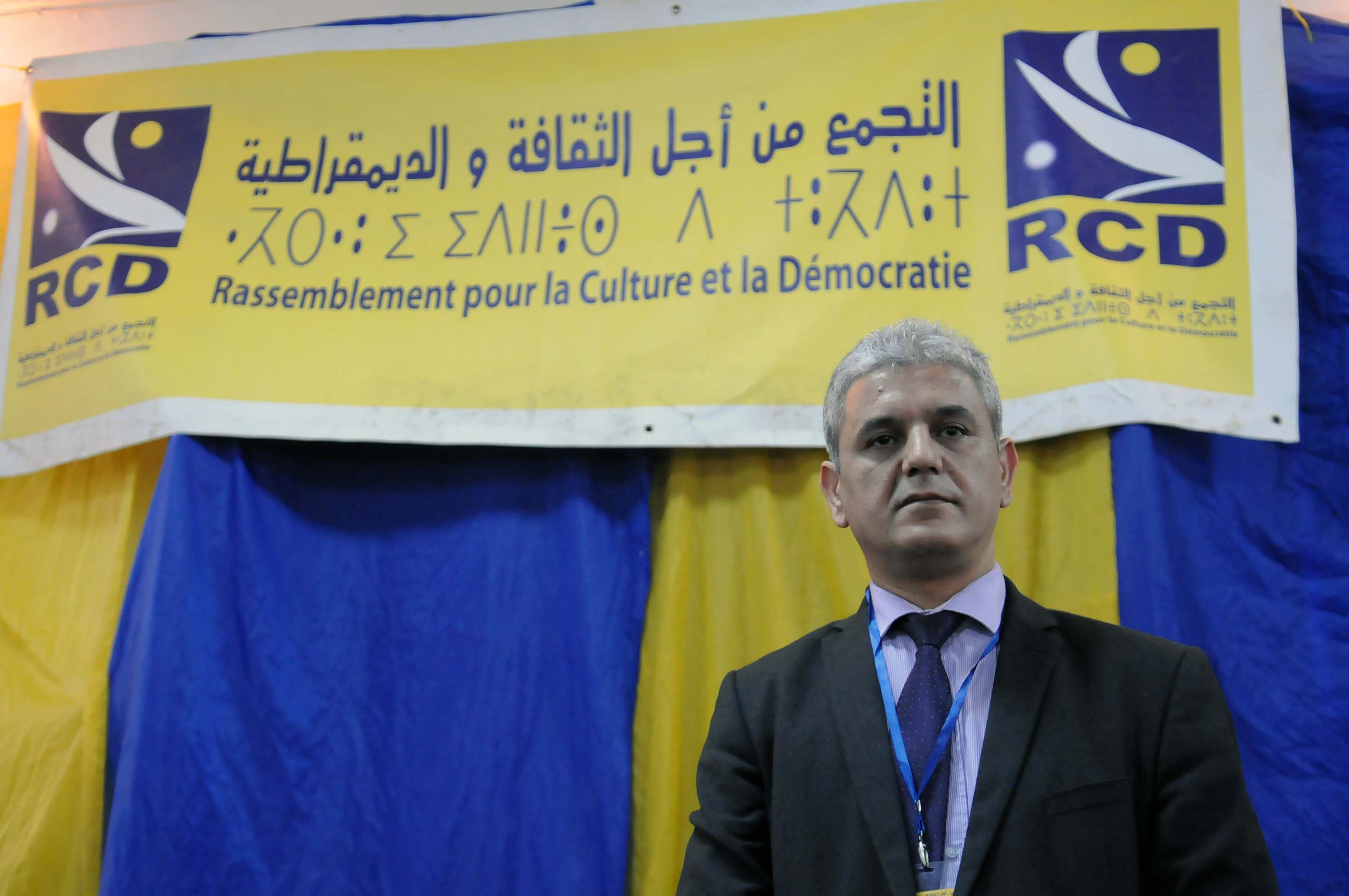 Mohcine Belabbas, président du RCD. New Press