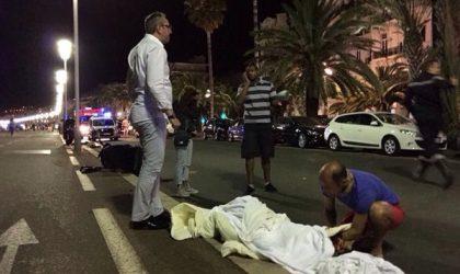 Un camion fonce sur la foule à Nice : des dizaines de morts
