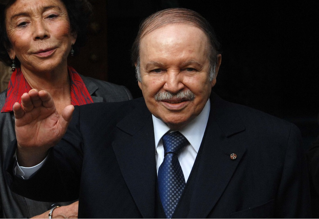 Le président Bouteflika. Sid-Ali/New Press