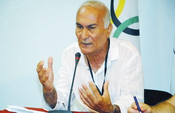Le président de la FAHB, Saïd Bouamra. D. R.