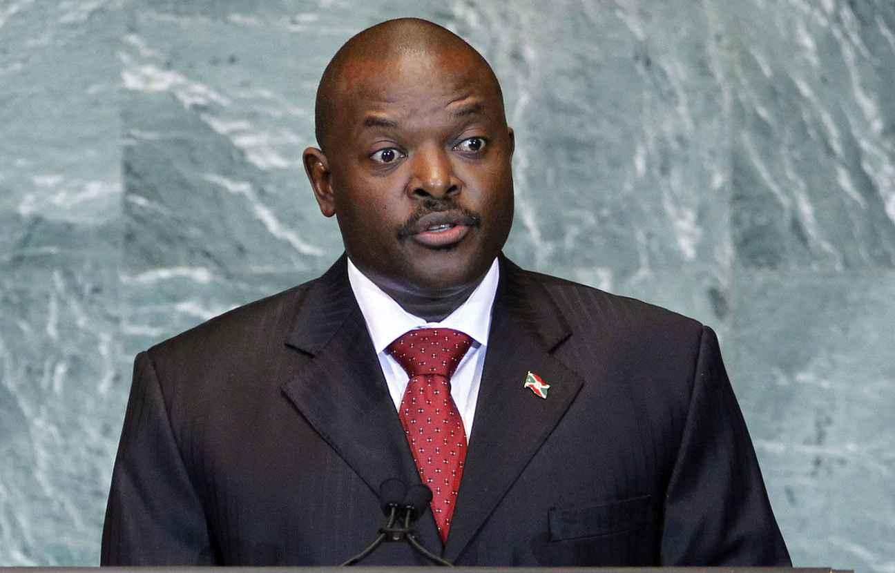 Le président burundais, Pierre Nkurunziza. D. R.