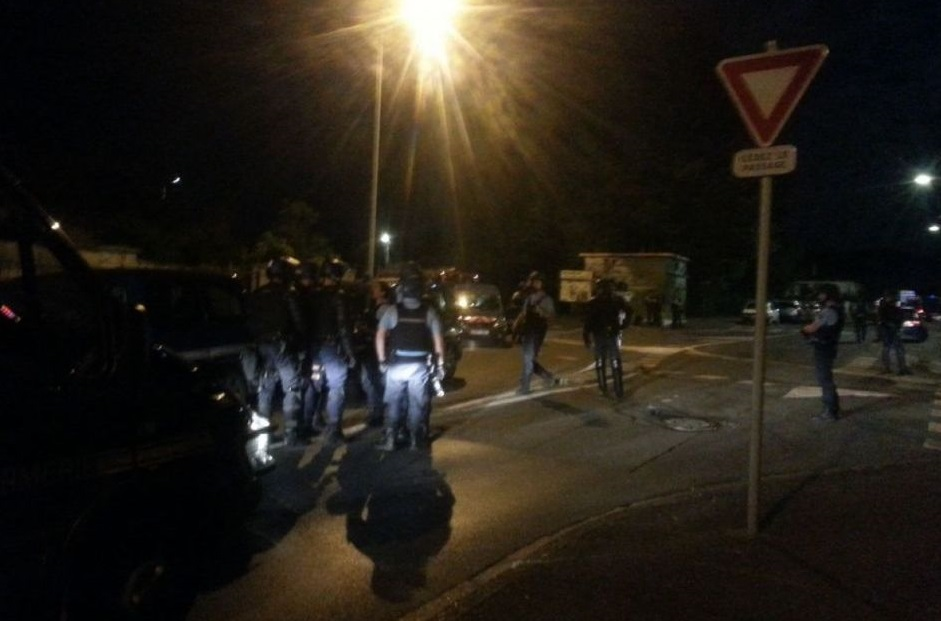 Les gendarmes sur le qui-vive dans le Val-d'Oise. D. R.