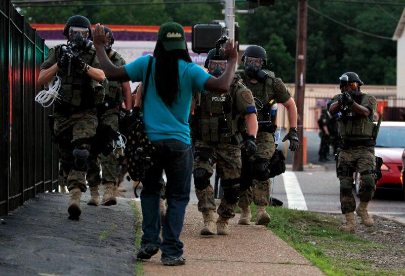 Un pays où «il y a un racisme systémique au sein de la police». D. R.