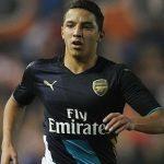 Ismaël Bennacer évolue dans l'équipe réserve d'Arsenal. D. R.