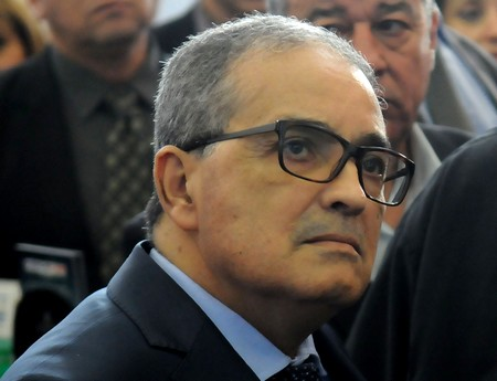 Le ministre du Commerce, Bakhti Belaïb. New Press