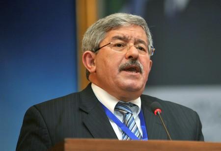Ahmed Ouyahia, SG du RND. New Press