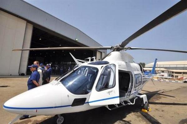 Le protocole porte sur la production d'hélicoptères de marque AugustaWesland. D. R.